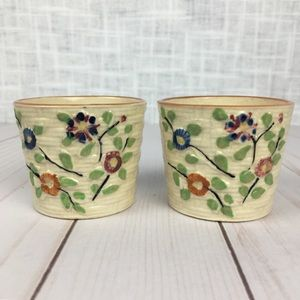2 vintage saki cups, Hotta Yu Shoten of Japan